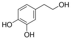 Molecula del Hidroxitirosol