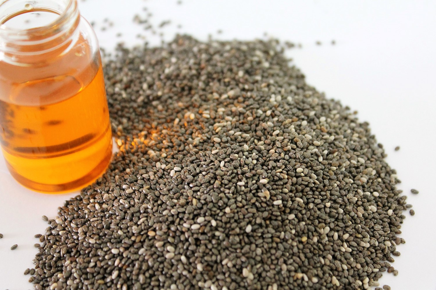 Chia Oil, a natural moisturizer for the skin.