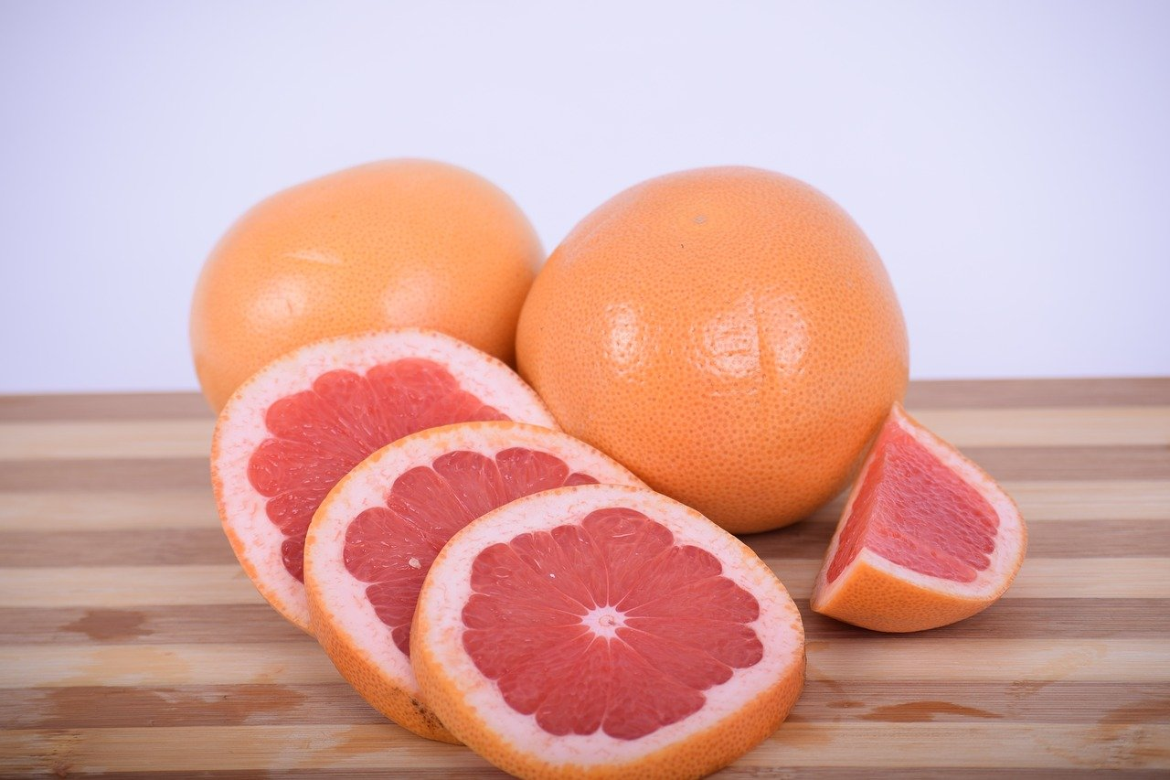 Pomelo, alto contenido en fibra y potasio